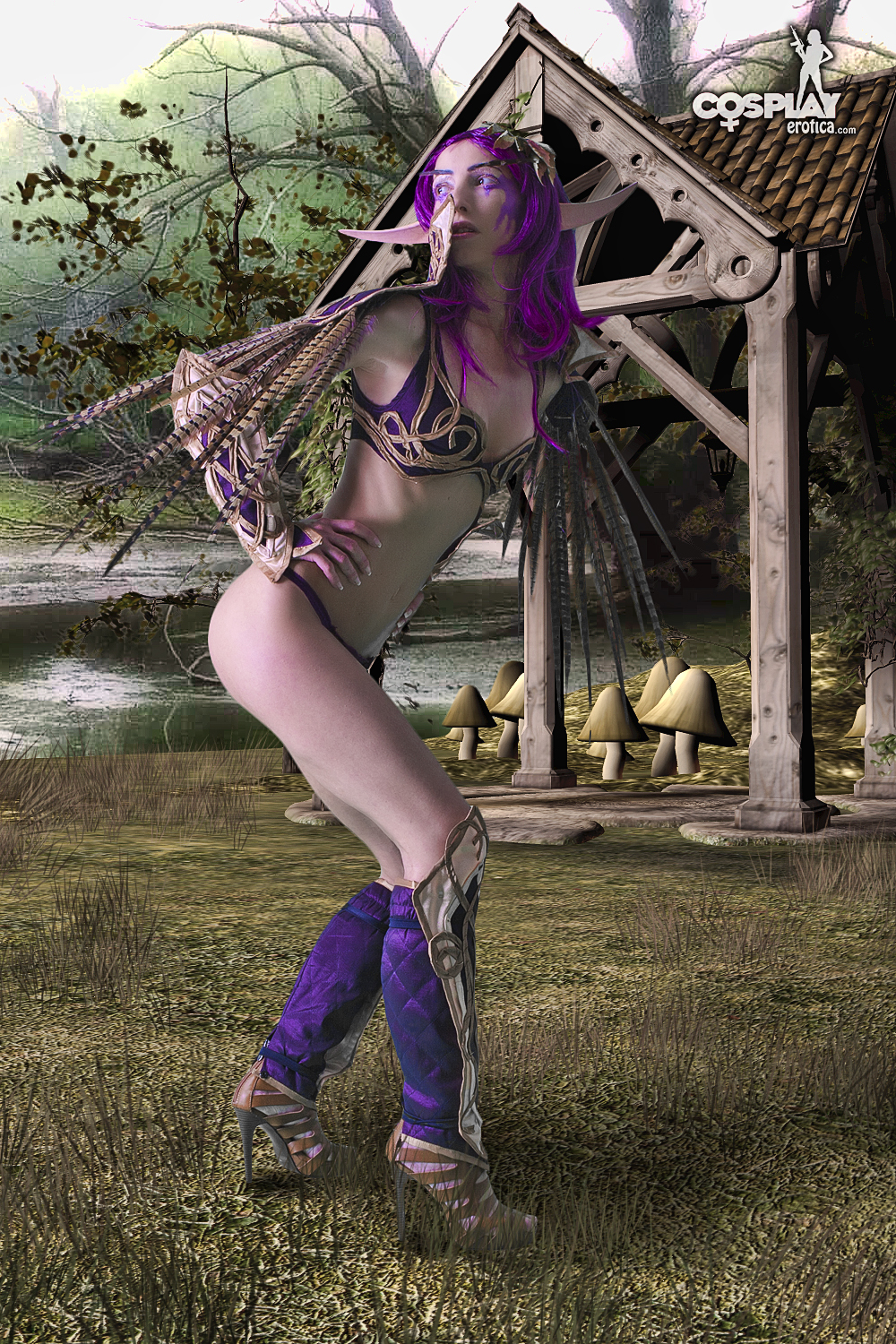 Cosplay erotica warcraft naked scenes