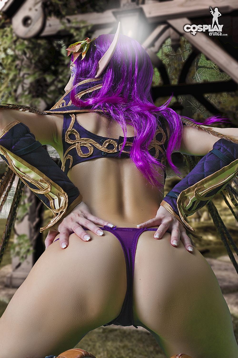 Cosplay night elf sex video nsfw movie