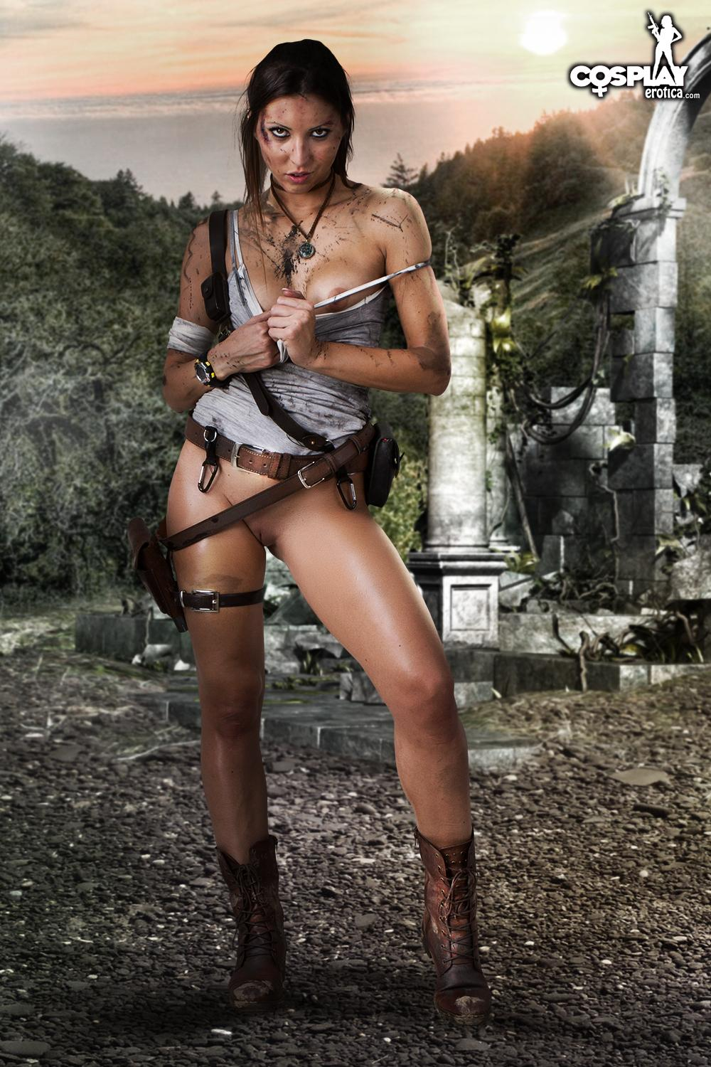 Lara croft nude figure naked comics