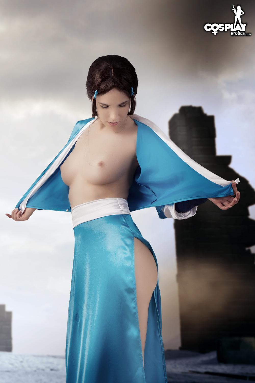 Anime Cosplay Porn Caption - CosplayErotica - Katara (Avatar) nude cosplay