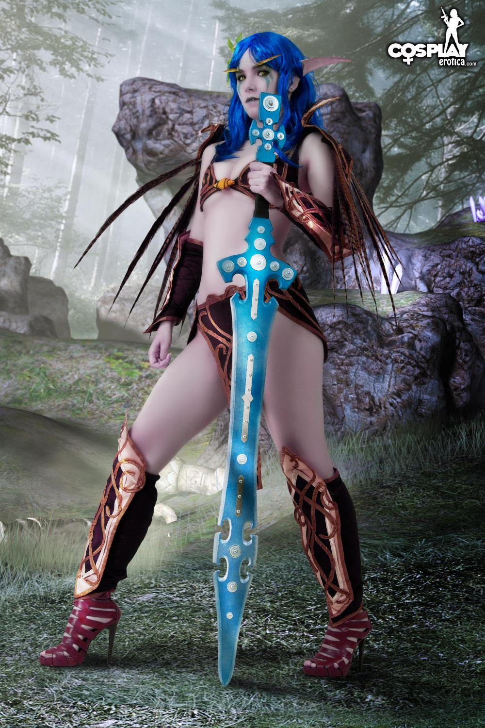 Naked female warrior sex erotic super porn star