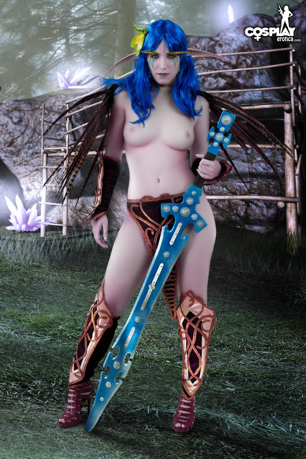 Cosplay night elf sex video xxx gorgeous stripers
