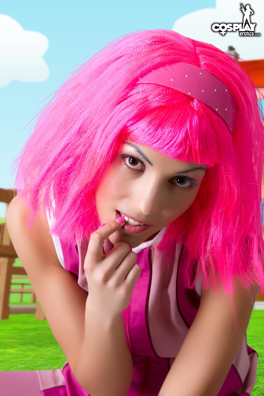 The girl in lazy town nude for