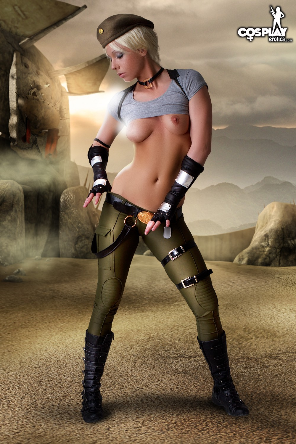 Sonya mortal kombat nude excited