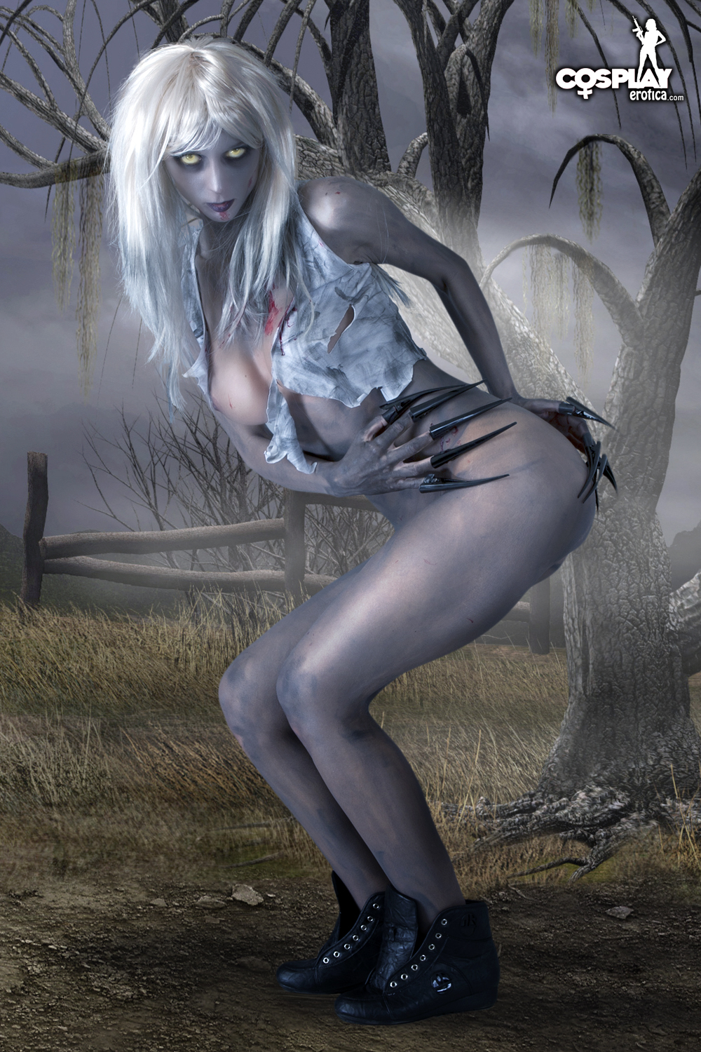 Left for dead witch porn