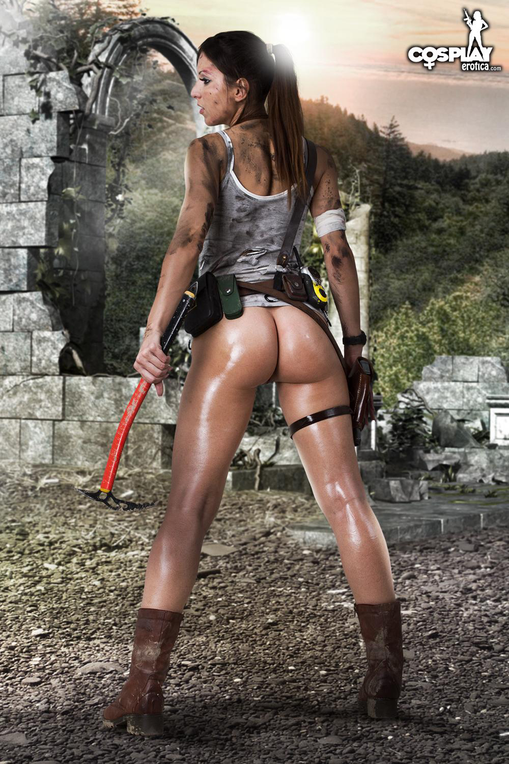 Sexy tomb raider cosplay nude porn streaming