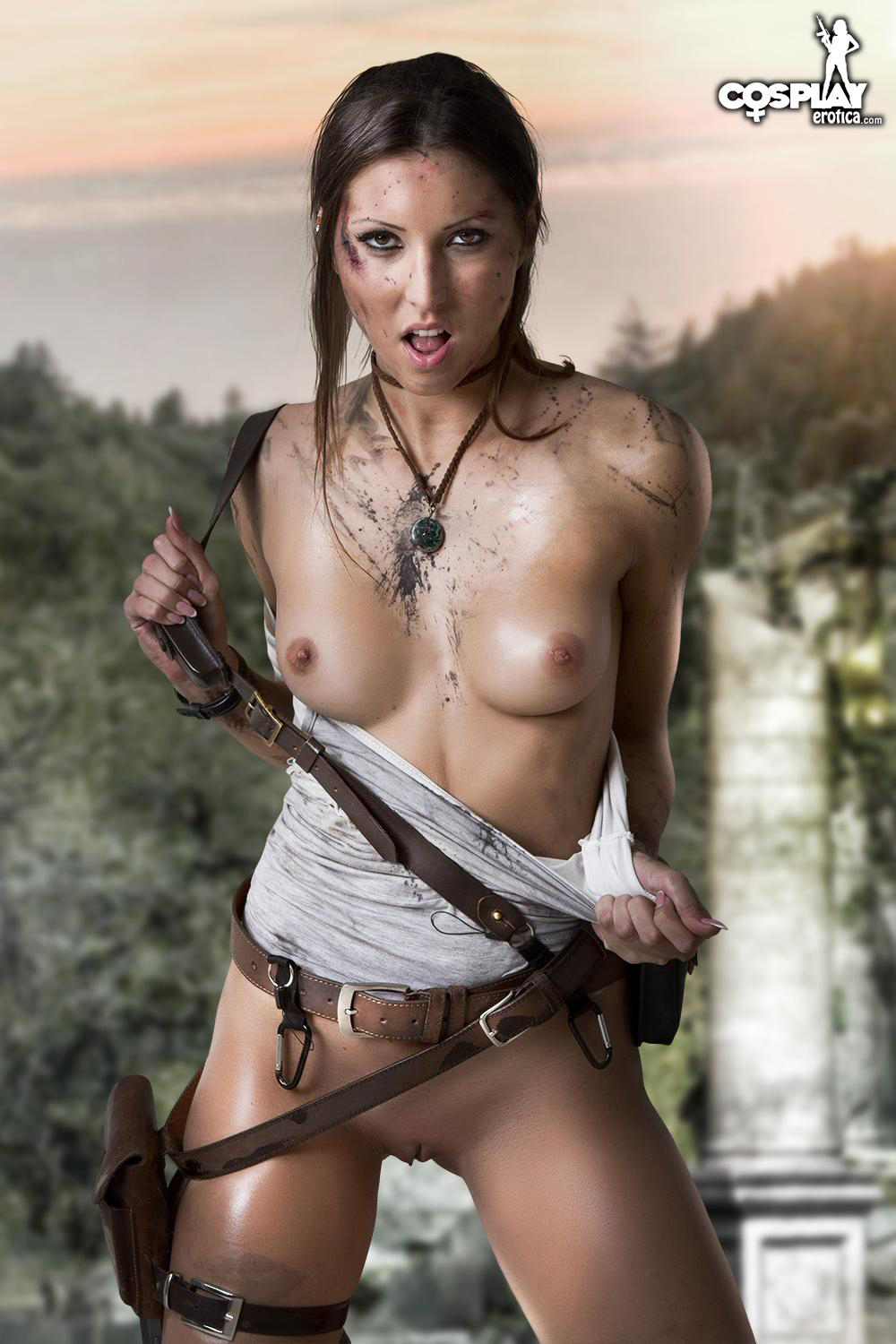 Sexy lara croft naked smut movies