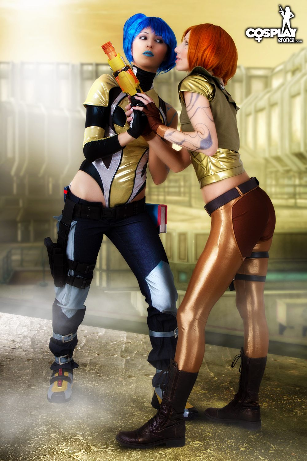 Hot naked lesbian maya and lilith borderlands  porncraft image