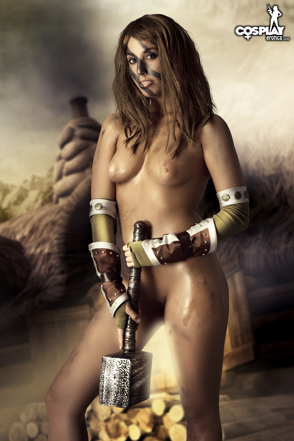 Huntress Nude 33