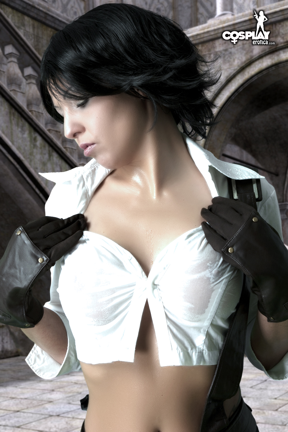 Devil may cry lady cosplay
