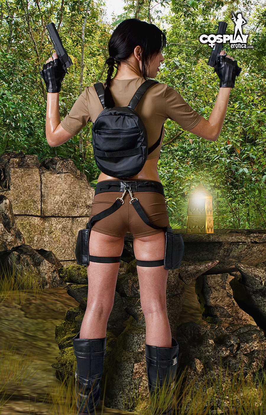 Эротические фото лары крофт из игры 18 фотография