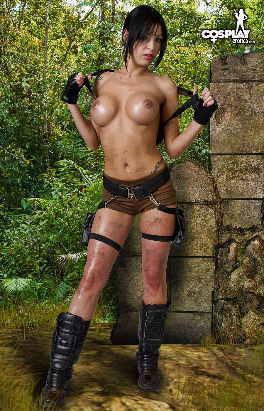 Cosplay tomb raider erotic porn pictures fucks photo