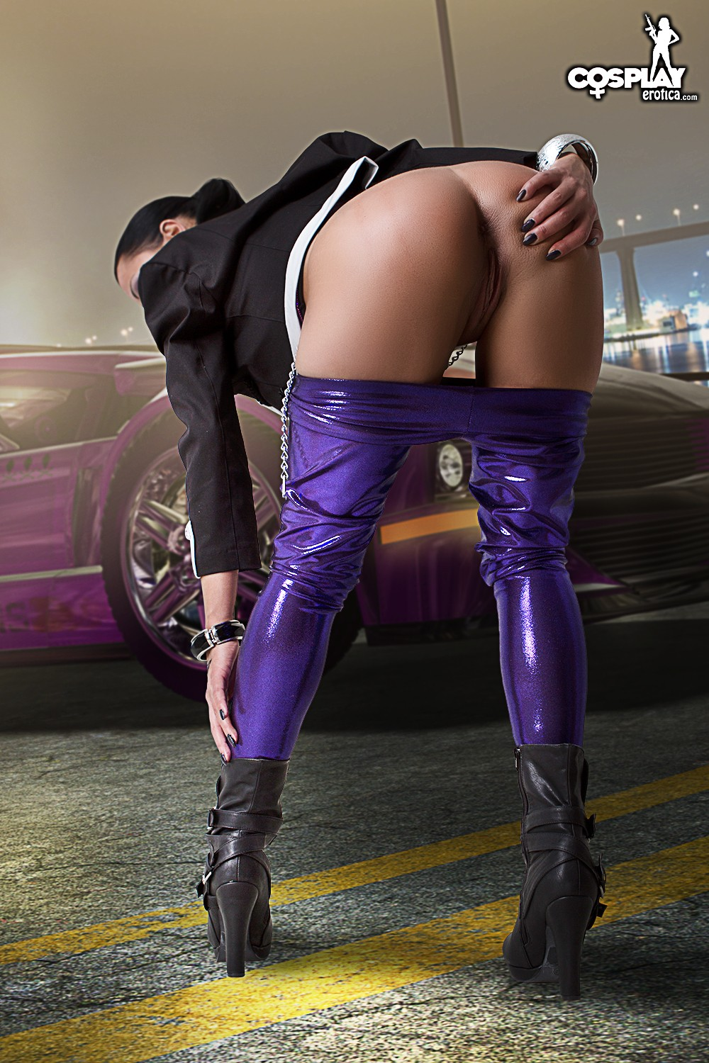Saints row 3 shaundi fucked doggy style sexual toons