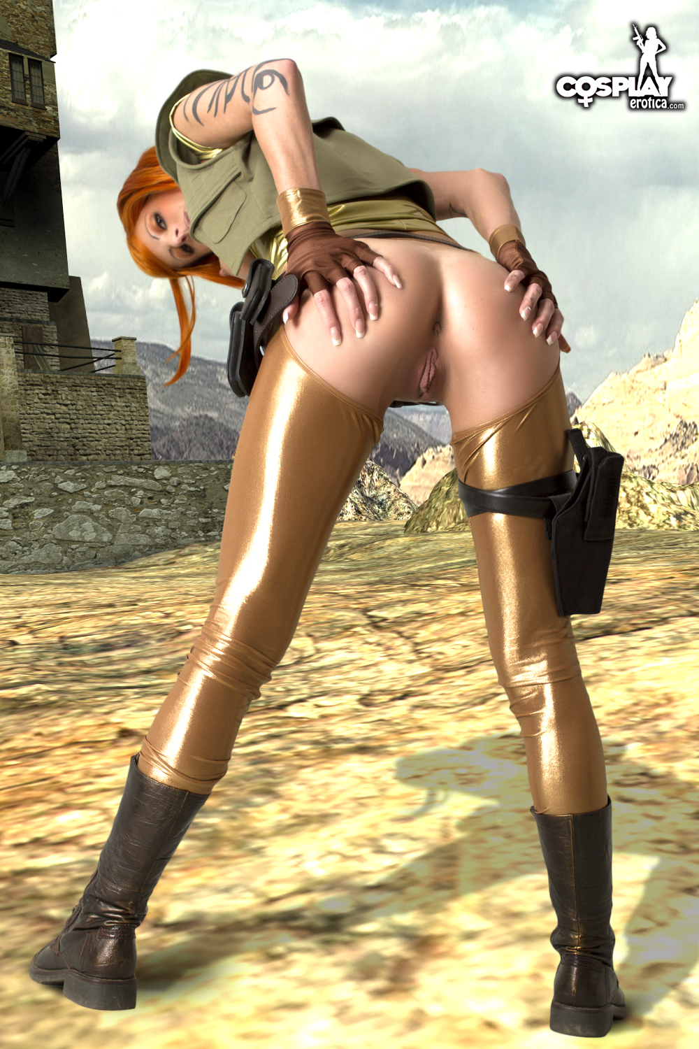 Lilith naked in borderlands 2 erotic video