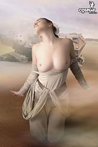 Cosplay erotica star wars
