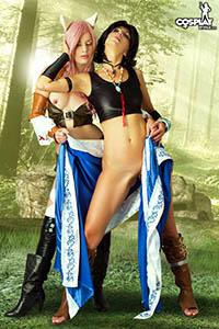 Final fantasy cosplay porn lesbian