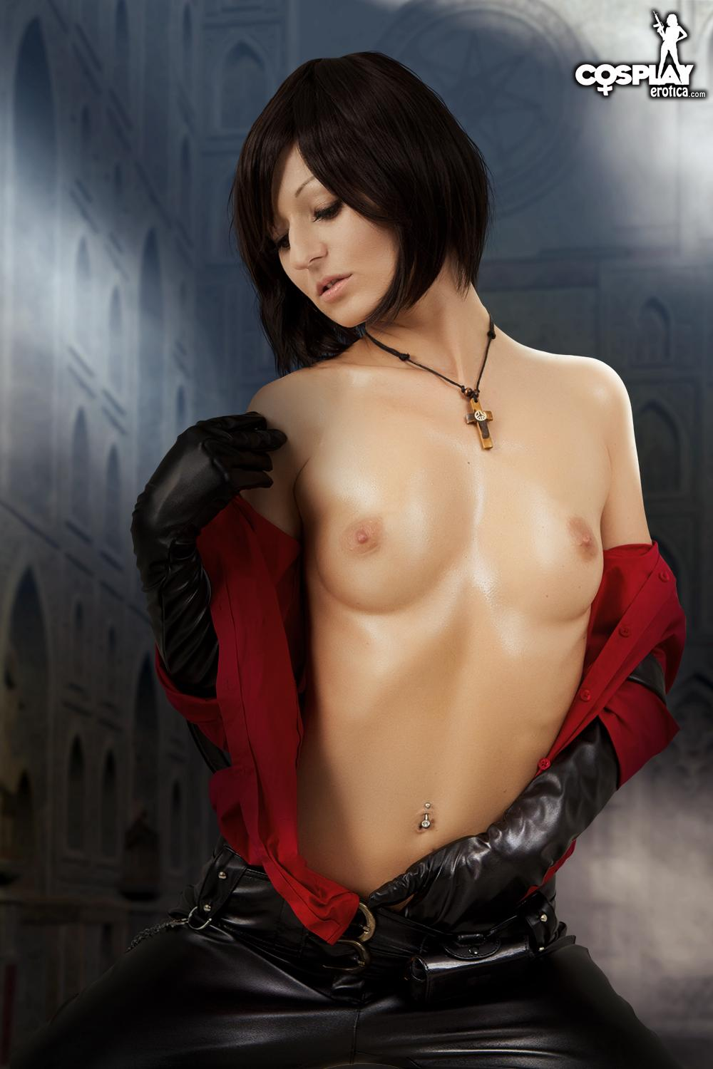 resident evil cosplay nude