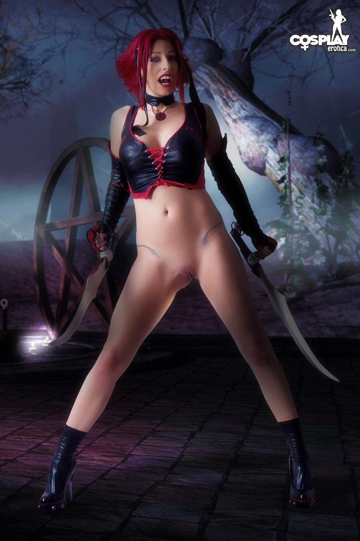 Bloodrayne Topless cosplayerotica - rayne (bloodrayne) nude cosplay